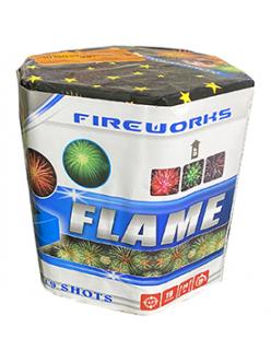 """Салют FLAME 0,8"""" дюйма (20 мм.) калибр 19 залпов эффекта"""