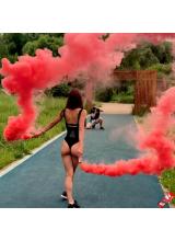 Цветной дым набор красный-зелёный-синий-фиолетовый-розовый 60 сек