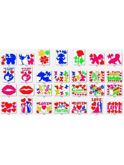 Трафареты для меловой краски waterpaint (в ассортименте) в Рязани