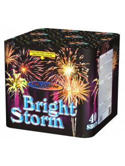 Салют Bright Storm GP513 40 веерных залпов 1,2 дюйма (30мм) калибр в Рязани по низким ценам.