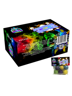 Цветной дым набор 6 шариков в упаковке