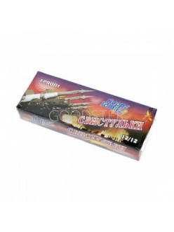 Летающий фейерверк СВИСТУЛЬКИ упаковка 12 штук!  в Рязани по низким ценам