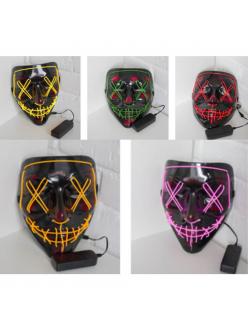 Неоновые маски (в ассортименте) в Рязани по низким ценам