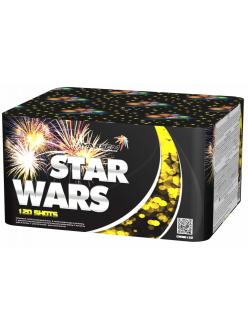 "Салют STAR WARS 1,2"" дюйма (30 мм.) калибр 120 залпов 7 эффектов"