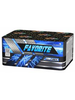 "Салют FAVORITE 0,8"" дюйма (20 мм.) калибр 106 залпов 8 эффектов + ВЕЕР V/ W / Z"