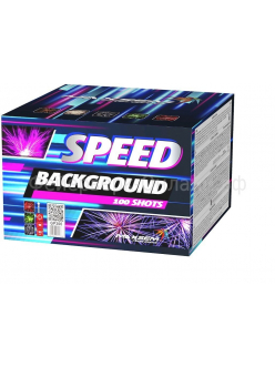 "Салют SPEED BACKGROUND 0,6"" дюйма (15 мм.) калибр 100 залпов"