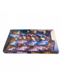 Летающий фейерверк НЕБЕСНЫЙ ПАТРУЛЬ (бабочки средние) упаковка 12 штук!  в Рязани по низким ценам