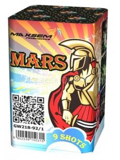 "Салют MARS 0,8"" дюйма (18 мм.) калибр 9 залпов 2 эффекта"