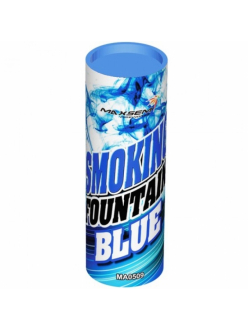 Цветной дым в Рязани (Синий)