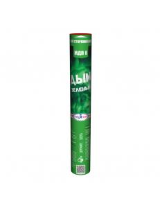 Цветной дым зеленого цвета (Мегапир, 60 сек)