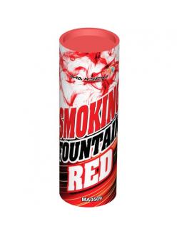Цветной дым в Рязани (Красный)