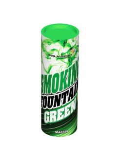 Цветной дым в Рязани (Зеленый)