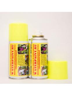 Меловая смываемая краска waterpaint желтого цвета в Рязани