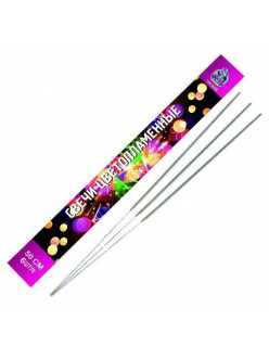 Бенгальские огни цветопламенные длинна 50 см. в упаковке 6 штук! в Рязани по низким ценам